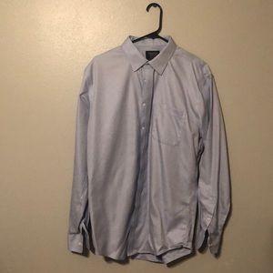 Slim-fit Blue Dress Shirt